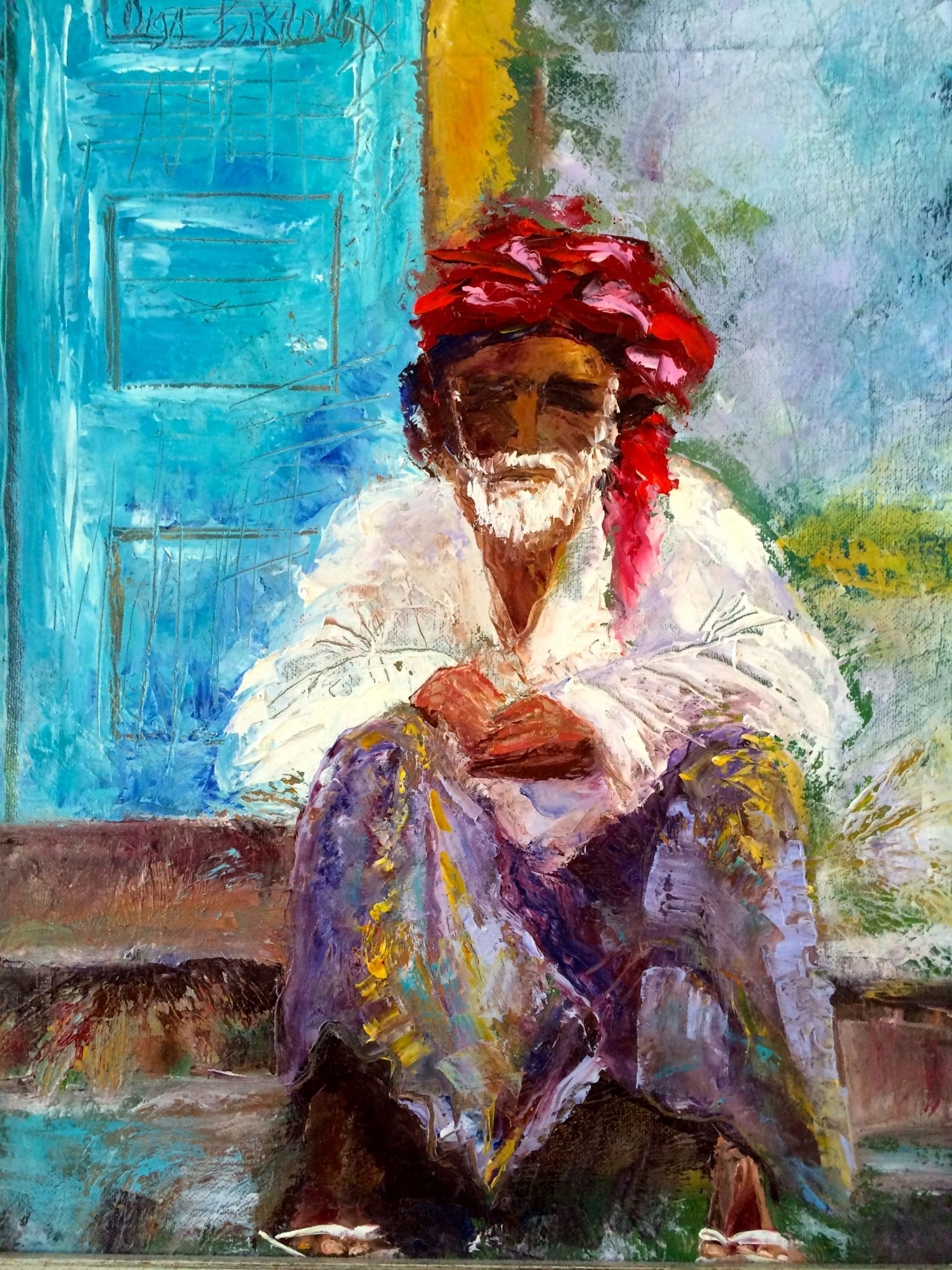 Old Omani Man