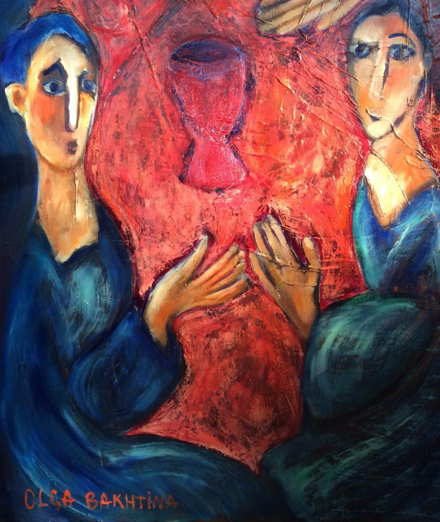 Apostles painting | by Olga Bakhtina