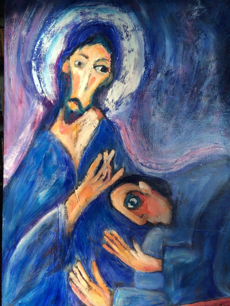 Blue Blessing