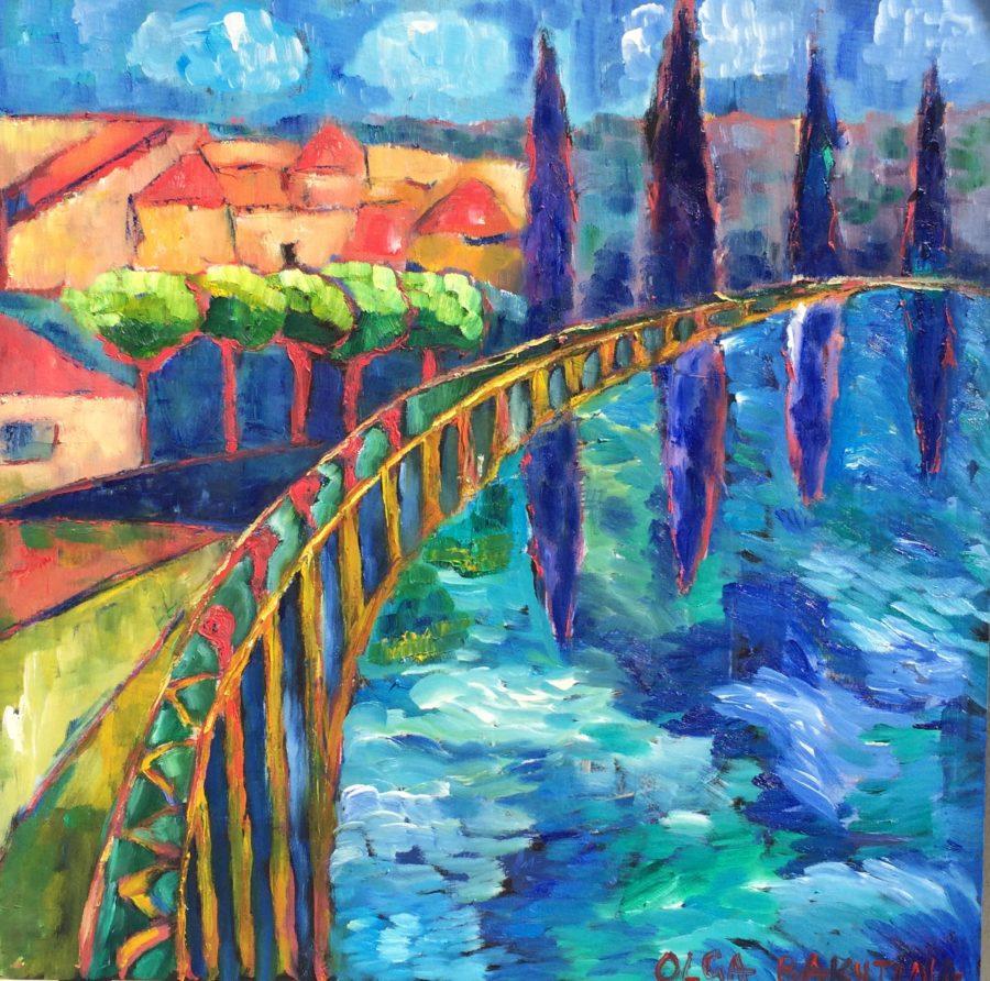 Raby Bay painting | by Olga Bakhtina