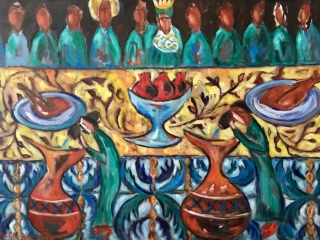 Wedding in Cana /Turning water into wine