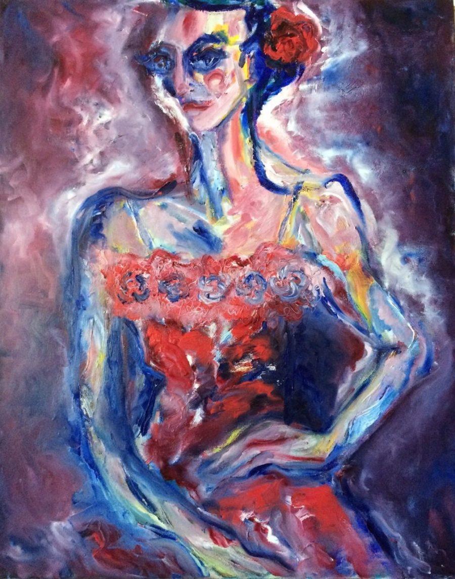 Carmen painting | Olga Bakhtina